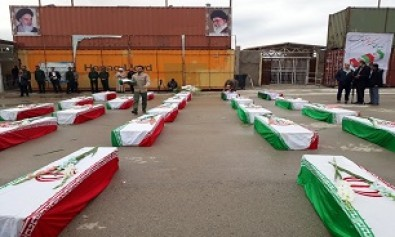 Remains of 46 martyrs back home